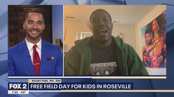 Free field day for kids in Roseville
