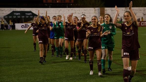 PHOTOS: Detroit City FC women's team defeats Muskegon 2-1 at Keyworth
