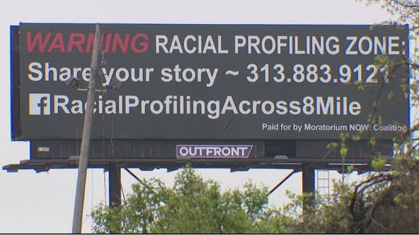 Group behind 8 Mile racial profiling billboards planning march Saturday