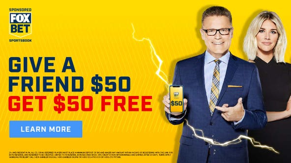 Get $50 free on FOX Bet by referring a friend