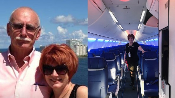 Southwest flight attendant files lawsuit blaming airline for husband's COVID-19 death