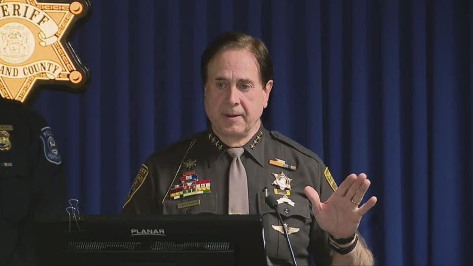 Oakland County Sheriff Michael Bouchard