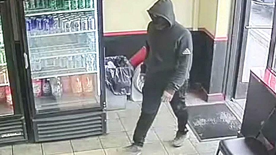 The suspect in Dennis Smith's murder.