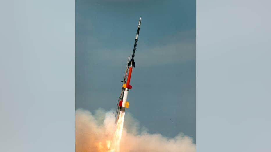 A Black Brant XII sounding rocket