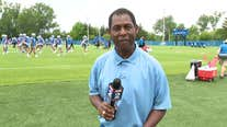 WATCH - Woody Woodriffe with a report on the Lions as they wrap up mini camp