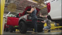 New Ford Broncos roll off the line at Wayne Assembly Plant