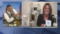 Ashley Gold jewelry gives some blinging jewelry ideas for Fathers Day
