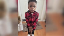 Candlelight vigil held for 2-year-old Brison Christian