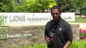 WATCH - Woody Woodriffe reports on day 2 of Lions mini camp