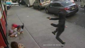 SHOCKING VIDEO:  Man shot in front of children in the Bronx