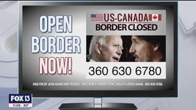 Florida man launches effort to reopen Canadian border