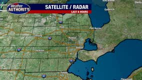 Brighter skies, drier weather and cooler temps for your Tuesday!