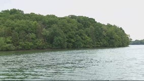 A tour of uninhabited Apple Island on Orchard Lake, is a trip back in time