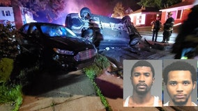 Men charged with shooting Airsoft guns at people, reckless driving in rollover crash