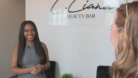 18-year-old entrepreneur opens her own beauty bar business in pandemic pivot