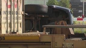 SUV struck by train on Woodward in Pontiac