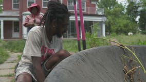 Detroit couple starts working farm 'Hoodstead' for sustainability on east side