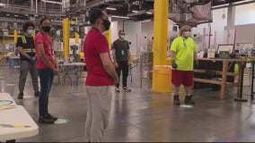 New safety measures for Amazon's Romulus Fulfillment Center revealed exclusive, first-look