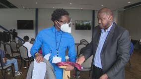 Threads for Success help young men get all dressed up - with everywhere to go