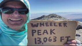Troy man wants to climb the tallest point in ever state - and he has one more to go