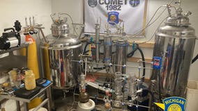 Police confiscate 'highly elaborate THC extraction lab' from Clinton Township home
