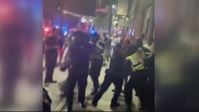 Detroit police assaulted, multiple arrested, and 13 guns confiscated after Greektown brawl