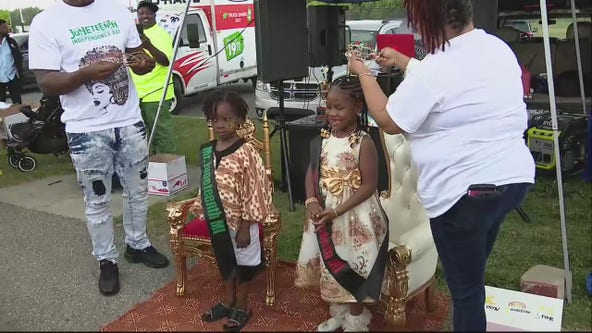 5-year-old Rosie White crowned Miss Juneteenth 2021