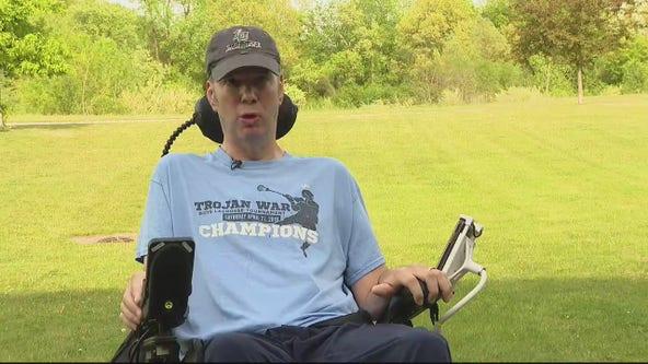 Marine fights ALS after strange symptoms appears last spring
