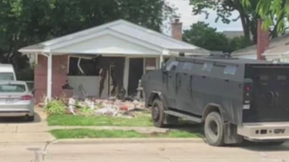 A barricaded gunman situation in St. Clair Shores lasted for days in 2019.
