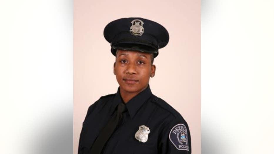Detroit Police Officer Teaira Funderburg