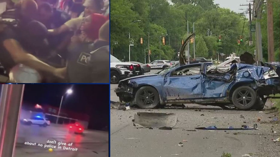 Recent drag racing, drifting and a large brawl in Greektown have caused concern for Detroit residents.