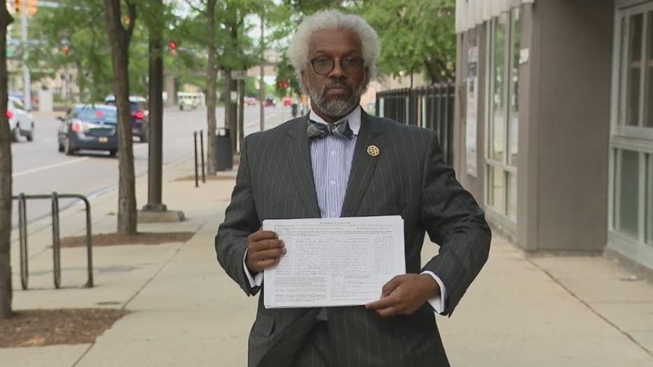 Attorney Todd Perklins says he has enough signatures to get reparations on the ballot for November.