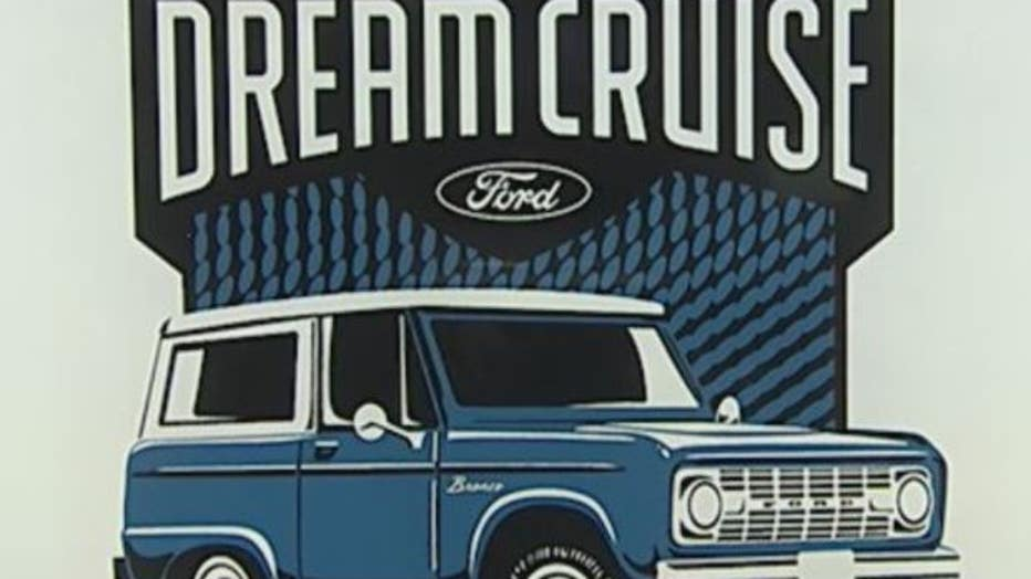 The logo for the 2021 Dream Cruise.