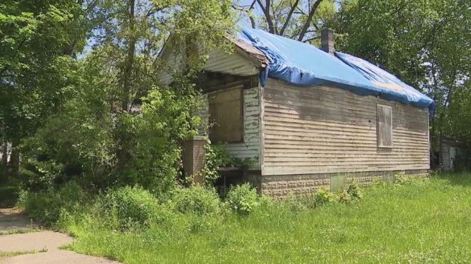 The home of the late Lizz Haskell has stood vacant since 2006.