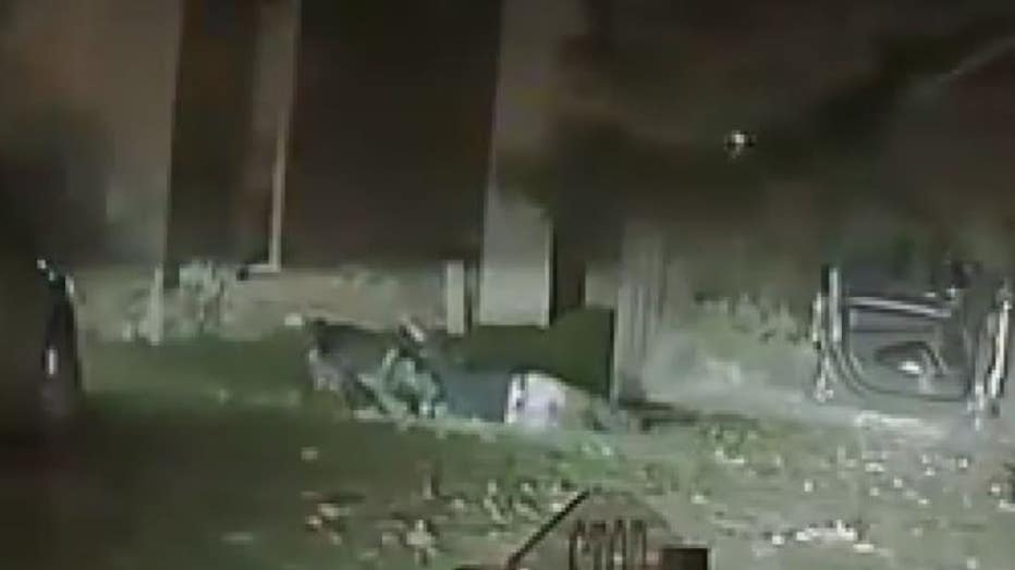 Dash cam video showing Robert Gilliam being attacked by a MSP K9 officer.