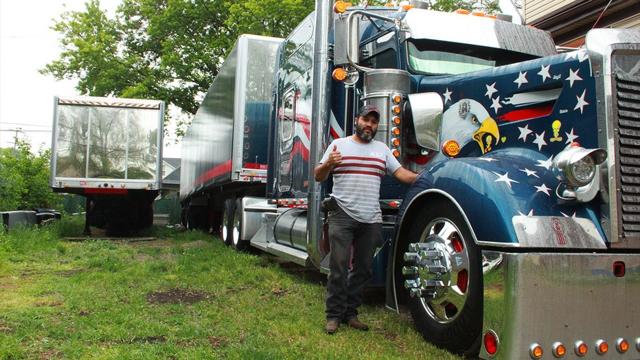 Huerta has been pulling out of the same lot for the last 20 years. Those who have been his neighbors for that long are used to living next to a big rig owner and all the potential inconveniences that come with it.