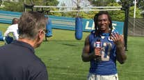 WATCH- Dan Miller goes one-on-one with Lions running back Jamaal Williams