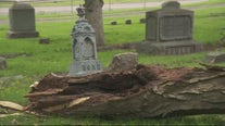 Pontiac's historic Oak Hill Cemetery damaged by storms; volunteers needed for cleanup