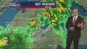 Thursday morning thunderstorm threat drops slightly, heavy rains still on the way