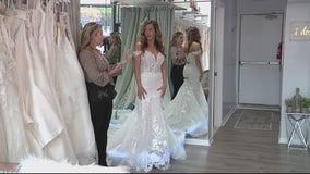 Jenna in White Bridal Boutique helps brides find their dream dress