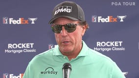 Phil Mickelson unlikely to return to Rocket Mortgage Classic