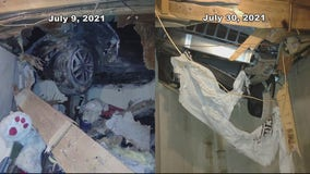 2 separate SUVs crash into home within 1 month
