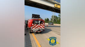 MSP remind drivers to move over after MDOT van hit on I-75