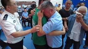Chinese parents reunited with son 24 years after his kidnapping