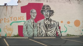 Fan welcomes Cade Cunningham to Detroit Pistons with mural