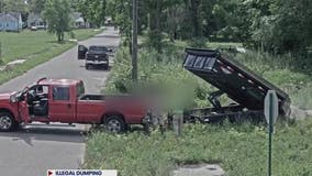 Illegal dumpers in southwest Detroit caught in the act on camera