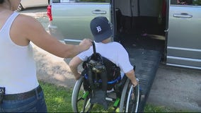 Special needs 9-year-old gets wheelchair accessible van thanks to community