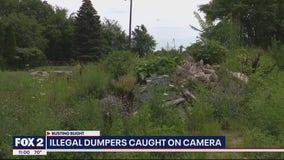 Illegal dumping crackdown in Detroit