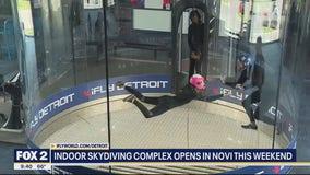 Indoor Skydiving Opens in Novi