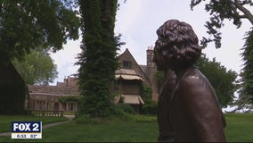 Inside the Ford House in Grosse Pointe Shores